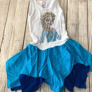 Rhinestone Elsa Dress